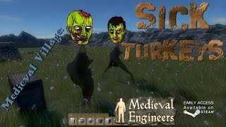 Medieval Engineers - Village part 5