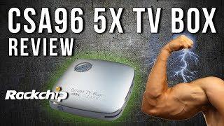CSA96 Rockchip RK3399 Hexa Core Android 4K TV Box Review