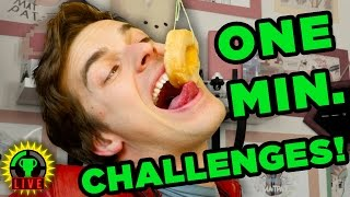 MINUTE To WIN IT CHALLENGE! | This is ABSURD!