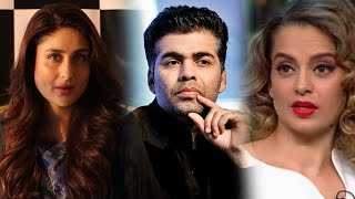 Kareena Talks About Karan-Kangana Controversy | Exclusive