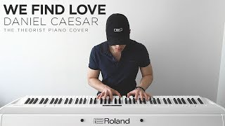 Daniel Caesar - We Find Love | The Theorist Piano Cover
