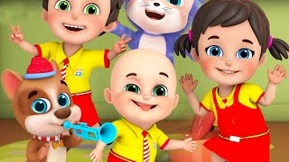 One Little Finger - nursery rhymes - Learn English with songs for Children by Jugnu Kids