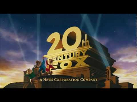 The Chipmunks In The 20th Century Fox Intro