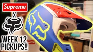 SUPREME x FOX RACING PICKUPS. HELMETS + GOGGLES & ALL THE FIRE!!