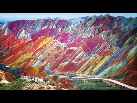 Rainbow Mountain located in China