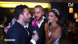 هكذا احتفل المنتج  علي المولى بزفاف ابنه وسام والزفّة على طريقة سعد رمضان، نادر الاتات، رويدة عطية