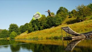 Take A Slide On This Epic Motorized Waterslide!