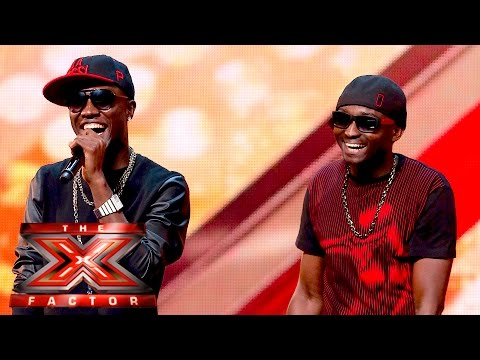 Menn on Poinnt Turn It Up for our Judges The X Factor UK 2015