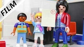 Playmobil Film Deutsch - HANNAHS STREIT MIT LEHRERIN WEGEN MIESER NOTE! Kinderserie Familie Vogel