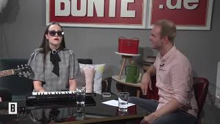 ALLIE X - Paper Love (Live and Interview at BUNTE.de)