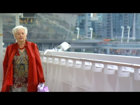 88 year old retires and lives on cruise ship