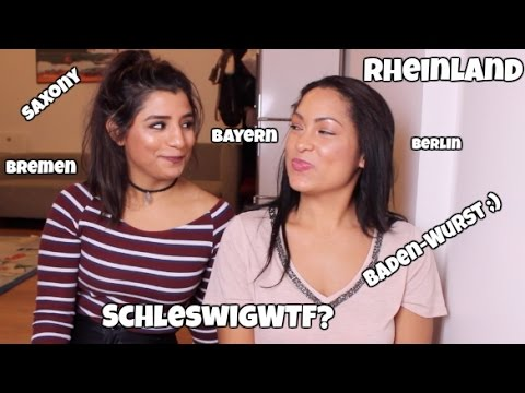 TRYING TO PRONOUNCE GERMAN STATES