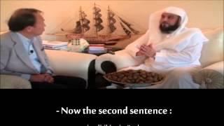 Muhammed Arifi Japon televizyoncu ile olan diyaloğu