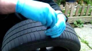 stop and go tire plugger. Puncture  repair.3gp