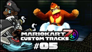 """WHO IS THIS GIRL AND WHY ARE YOU EVERYWHERE!?"" [Mario Kart 7 Custom Tracks] [#05] [Star Cup]"