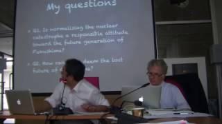 Fukushima: Energy ethics & courage to let go of nuclear power - Taro Mochizuki, Japan; AUSN