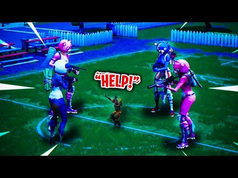 WHAT HAPPENS WHEN 4 FORTNITE BEARS TEAM UP YOU WONT BELIEVE THIS GODLY SQUAD