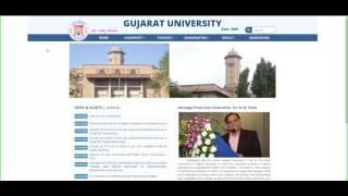 results gujarat university