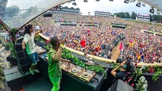 Sunnery James & Ryan Marciano - Live Tomorrowland 2016