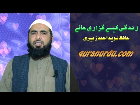 Zindagi kaisay guzari jaye :: by Naveed Zubairi_HD Video