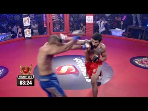 MMA In India Kultar Singh Gill vs Amir Wahman SFL 4