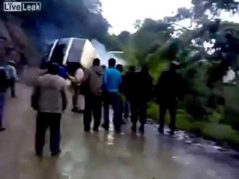 Sonapur bus accident due to bad road condition