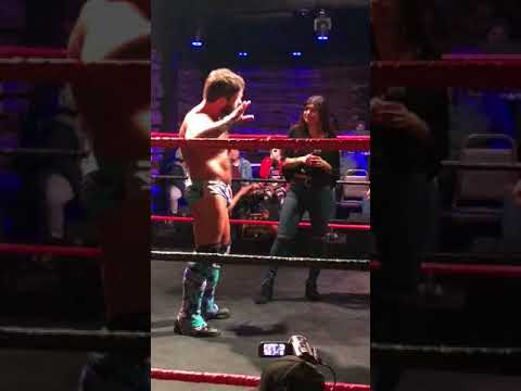 Joey Ryan confronts Mia Khalifa about her comments on pro wrestling SABOTAGE WRESTLING