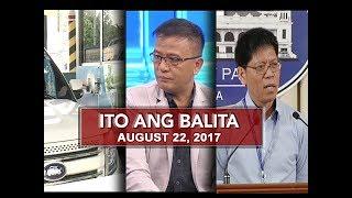 UNTV: Ito Ang Balita (August 22, 2017)