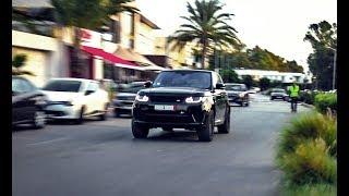 Range Rover SVR - V8 Brutal Sound Compilation!