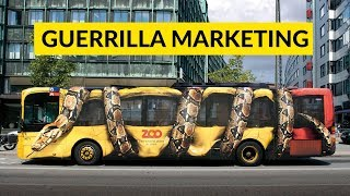 Guerrilla Marketing | Unconventional Marketing Strategy | Needs Lot Of Creativity