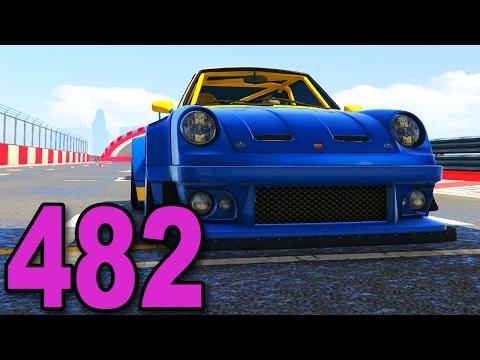 Grand Theft Auto 5 Multiplayer - Part 482 - Widebody Porsche