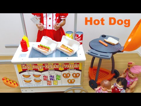 Xxx Mp4 ホットドッグ屋さん カート おままごと Hot Dog Cart Toy And Mell Chan Doll 3gp Sex