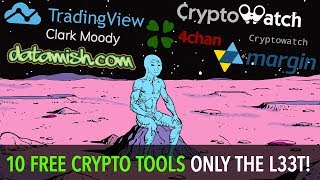 Top 10: Crypto Trading Tools [FREE]