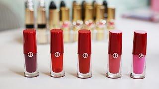 Giorgio Armani Lip Magnet Liquid Lipstick Review