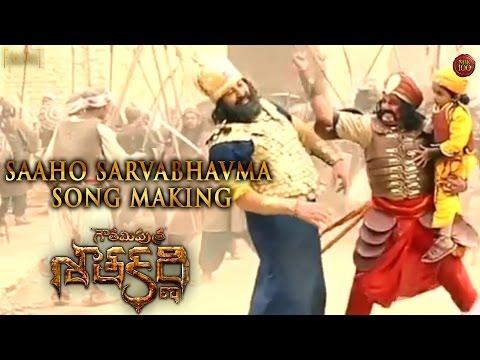 Saaho Sarvabhavma Song Making - Gautamiputra