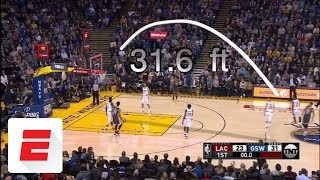 Steph Curry scores 44 points in the Warriors