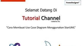 Tutorial Cara Membuat Use Case Diagram Menggunakan StarUML