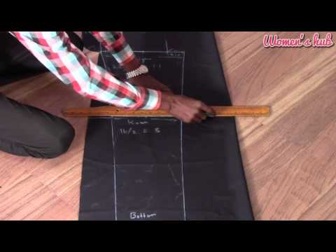 Mens Pant 1. Marking and Cutting English Audio