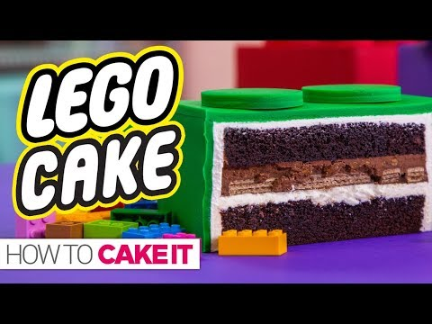 GIANT LEGO CAKE & Super Exciting Announcement How To Cake It
