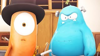 Funny Animated Cartoon | Spookiz Magician Kebi Magic Trick Goes Wrong 스푸키즈 | Cartoon for Children