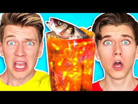 The Smoothie Challenge GOOD vs. GROSS Learn DIY Edible Real Gummy Food Sour Candy Drink How To