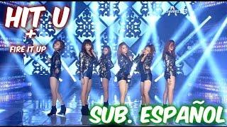 [Sub. Español] Dal shabet - Fire it up + Hit u - Live (달샤벳) (히트 유)