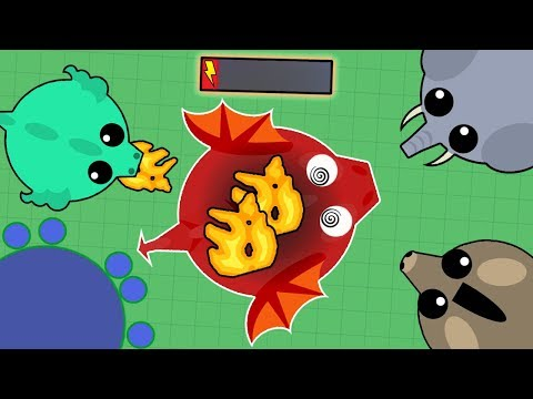 DESTROYING/TROLLING ALL ANIMALS IN MOPE.IO! BLACK DRAGON IN 30 MINUTES! (Mope.io Best Moments)