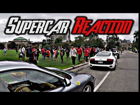 Xxx Mp4 EPIC Supercar TRIO City REACTION Challenge Lambo Vs McLaren Vs Ferrari 3gp Sex