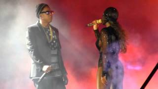 """Bonnie & Clyde "" Jay Z & Beyonce@Citizens Bank Park Philadelphia 7/5/14"
