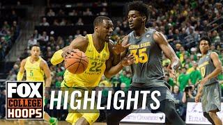 Arizona State vs Oregon | Highlights | FOX COLLEGE HOOPS