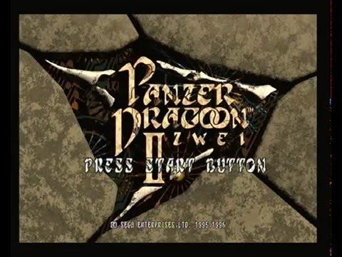 Saturn Panzer Dragoon II Zwei Longplay with Pandora s Box enabled