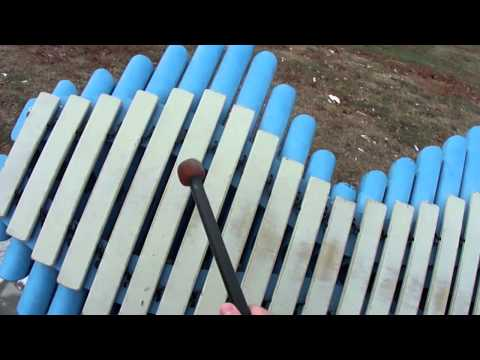 Outdoor Xylophones at Jackson Square Park
