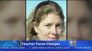 Teacher Accused Of Sex With Student Faces Drug Charges
