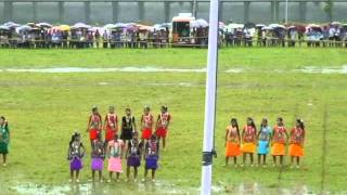 SCHOOL GIRLS OF ADI TRIBE - TRIBAL DANCE AND FOLK SONG